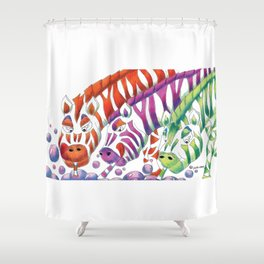 Zany Shower Curtains