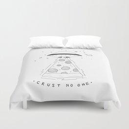 crust no one Duvet Cover