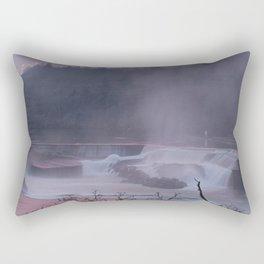Willamette Falls at Sunset Rectangular Pillow