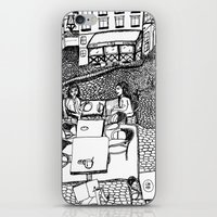 stockholm iPhone & iPod Skins featuring Stockholm by intermittentdreamscapes