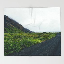 On The Road Throw Blanket