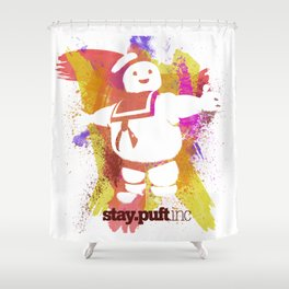 stay.puft.inc Shower Curtain