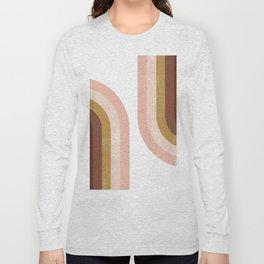 Double Vintage Rainbow Long Sleeve T-shirt