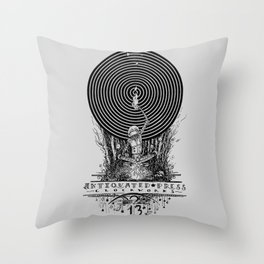 Clockworks Light Throw Pillow