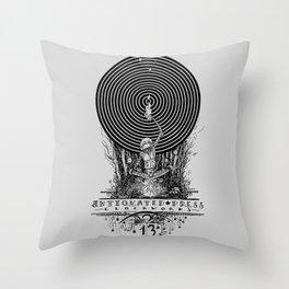 Clockworks Light Throw Pillow