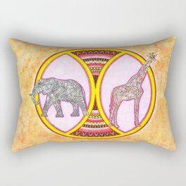 Savana in Colors Rectangular Pillow