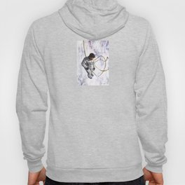 Hovering, Floating in Circles Hoody