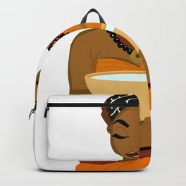 African Women Backpack
