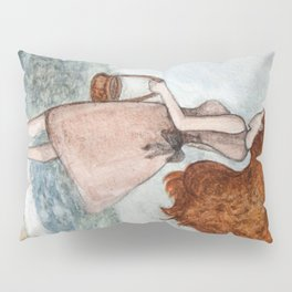 She and the sea Pillow Sham