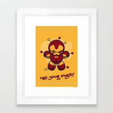 My SUPERCHARGED VOODOO NO5 Framed Art Print