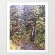 Tucked Away Art Print