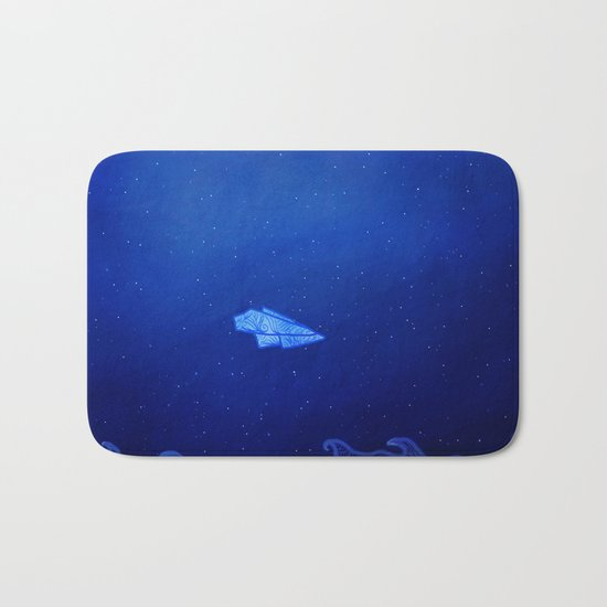 In The Aeroplane Over The Sea Bath Mat