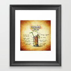 Bahama Mama Framed Art Print
