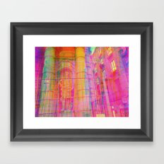 Multiplicitous extrapolatable characterization. 16 Framed Art Print