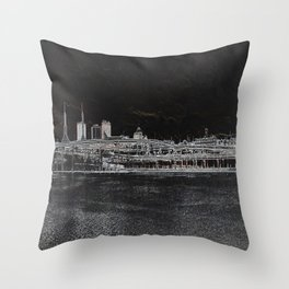 east side Throw Pillow
