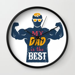 Father day Wall Clock