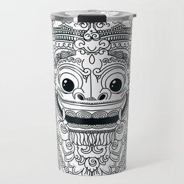 Barong / Balinese mask / Bali mask #3 Travel Mug