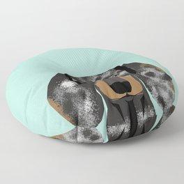 Doxie Dachshund merle dapple dog cute must have dog accessories dog gifts cute doxies dachshunds des Floor Pillow