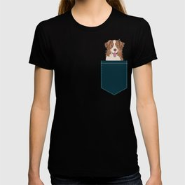 Hollis - Australian Shepherd gifts for dog owners pet lovers dog people gifts for dog person T-shirt