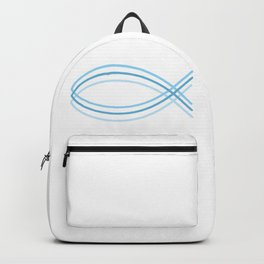 Ichthys Christian Fish Symbol. The jesus fish #society6 #decor #buyart #artprint Backpack