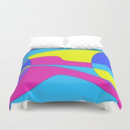 Colors in Sound Neon Duvet Cover
