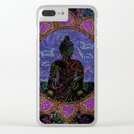 Buddha in Spirits Clear iPhone Case