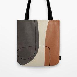 Modern Abstract Shapes #2 Tote Bag