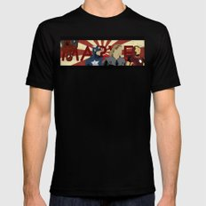 The Avengers forgot Spiderman Mens Fitted Tee Black SMALL