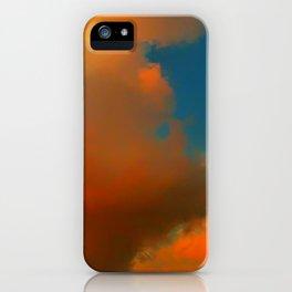 Orange and Blue Skies iPhone Case