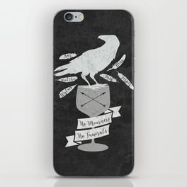 No Mourners, No Funerals - Six of Crows iPhone Skin