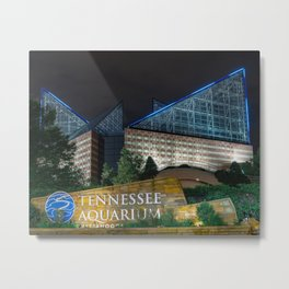 Chattanooga Aquarium for CFC Metal Print