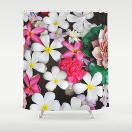Flowers In Thailand Shower Curtain
