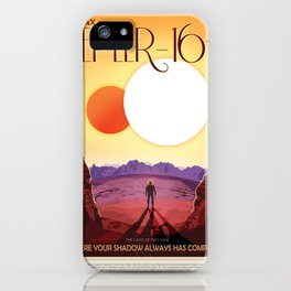Visions of the Future: Kepler 16b iPhone Case