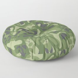 the PURRFECT camo with CATS Floor Pillow