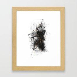 Unwelcome Gaze – Amazon 3 Framed Art Print