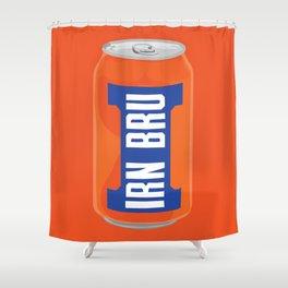 Irn Bru Shower Curtain