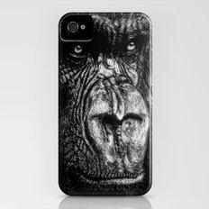 The Wise Simian (Gorilla) iPhone (4, 4s) Slim Case