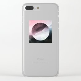 Serenity in Rose Clear iPhone Case