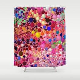 Bubblegum Yum Shower Curtain