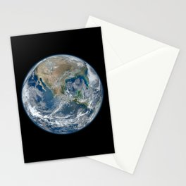 Planet Earth from Above Stationery Cards