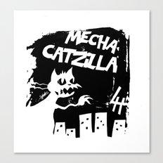Mecha Catzilla Zero Canvas Print