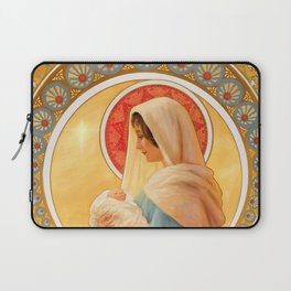 Madonna and Child Laptop Sleeve