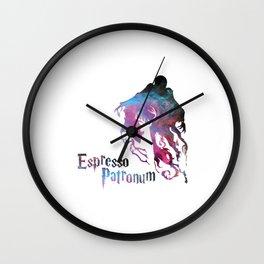 Espresso Patronum HarryPotter Wall Clock