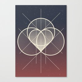 Complicated Canvas Print