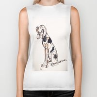 best friend Biker Tanks featuring Best Friend by Amanda Vieira