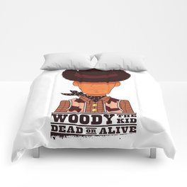 Woody the Kid! Comforters