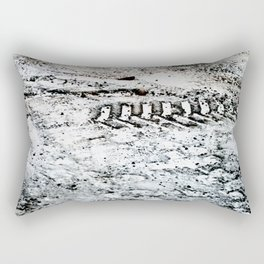 Sno Trak Rectangular Pillow