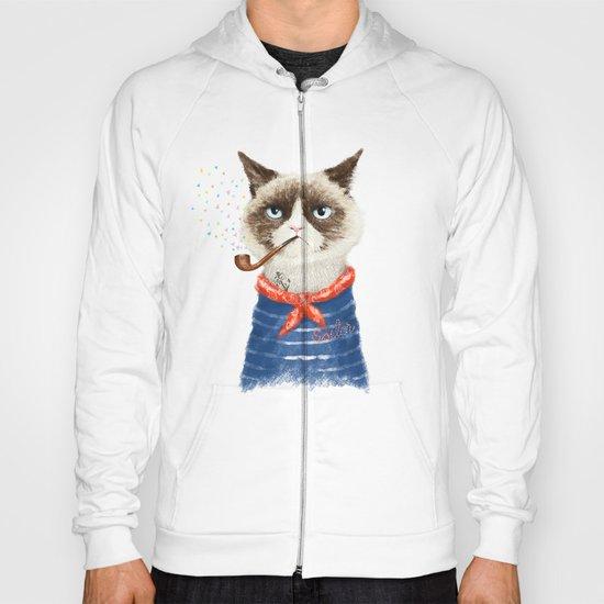 Sailor Cat V Hoody
