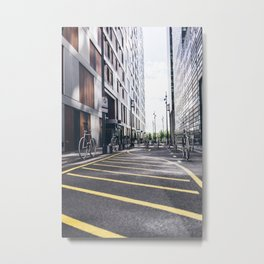 Bike in Oslo Metal Print