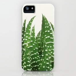 Haworthia iPhone Case